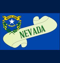 Nevada scroll vector