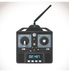 radio remote control vector image