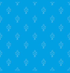riot of woman pattern seamless blue vector image