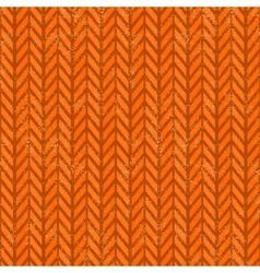Seamless grunge chevron pattern vector image