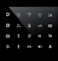 web mobile icons 1 32px series vector image
