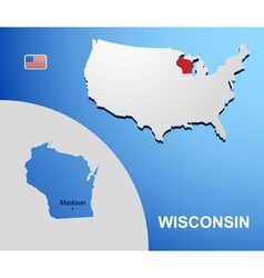 Wisconsin vector