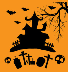 hallowen party vector image