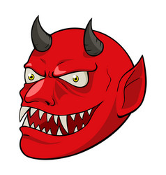 the devil vector image