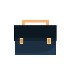 briefcase office work business equipment icon vector image