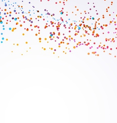 Bright colorful paint splash dot background vector