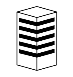 building construction isolated icon design vector image