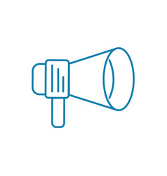 call to action linear icon concept call to action vector image