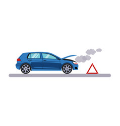 car and transportation breakdown vector image
