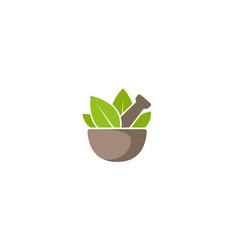 creative traditional pharmacy logo design symbol vector image