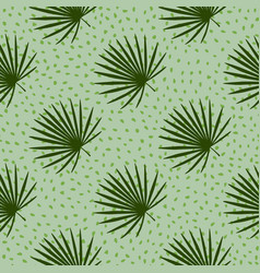 Diagonal ornament tropic seamless pattern with vector