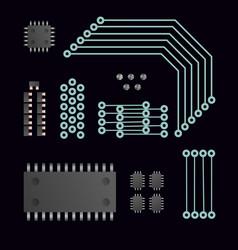 Electric cpu vector