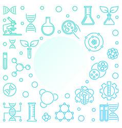 Geneticist linear or frame vector