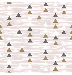 Gray hipster geometrical seamless pattern vector image