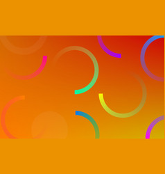 neon circle gradient pattern background vector image