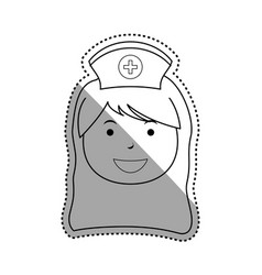 Nurse medical profession vector