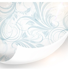 Pastel Floral Wallpaper vector