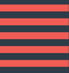 Red blue horizontal stripes seamless pattern vector