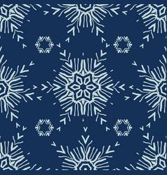 Winter snow texture seamless pattern drawn vector