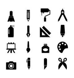 Art tool Icon vector image