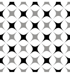The pattern of gray and black stylized squares vector image vector image