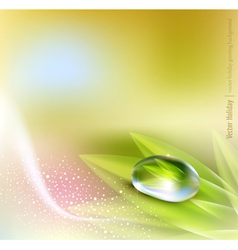 pastel colors nature vector image vector image