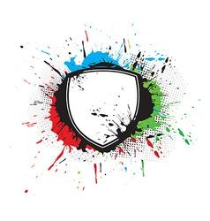 Shield designs vector image