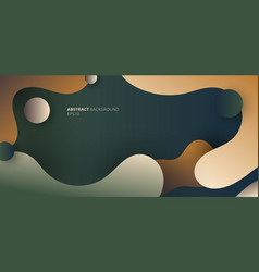 abstract modern fluid gradient shape on natural vector image