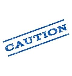 Caution Watermark Stamp vector