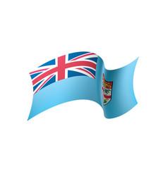 fiji flag vector image