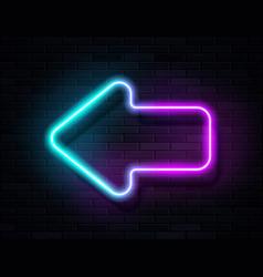 futuristic sci fi modern neon violet blue vector image