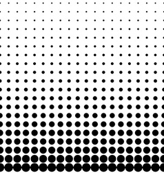 Geomentic Background Halftone vector image