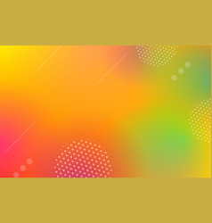 geometric abstract gradient background vector image