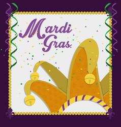 Mardi gras carnival design vector