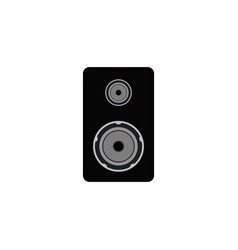 speaker graphic design template isolated vector image
