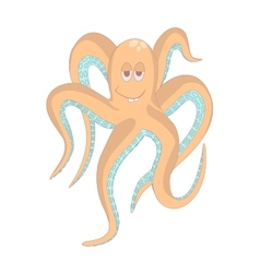 Very Funny octopusIsolated vector image