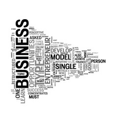 which type of entrepreneur are you text word vector image
