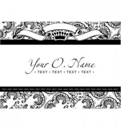 title frame vector image