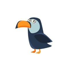 Toucan Toy Exotic Animal Drawing vector image vector image