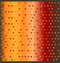 gradient heart pattern seamless vector image vector image