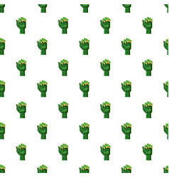 zombi arm pattern vector image