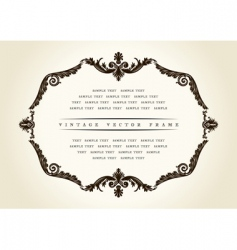 baroque backgrounds vector image