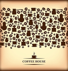 Coffee horizontal blur vector