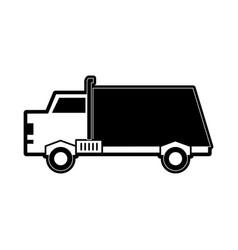 dump truck icon image vector image