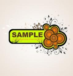 Floral Grunge Design vector