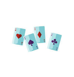 Fortune telling cards flat vector