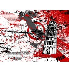 grunge urban background vector image