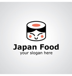 Japan food logo vector