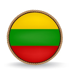 Lithuania Seal vector image
