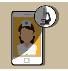 Medicine online design vector